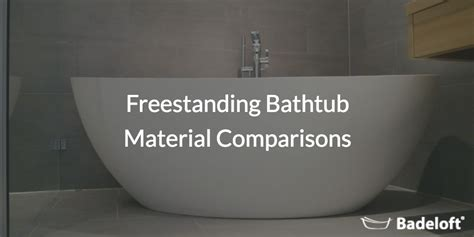 bathtub materials pros and cons bathtub material comparison 28 images aquatica wht