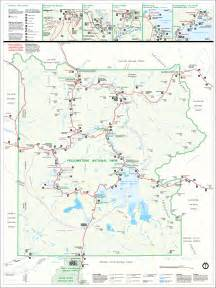map of america yellowstone national park yellowstone national park map images