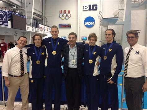 Records In Michigan Michigan Ncaa Record In 800 Free Relay On Wednesday At Big Ten Chionships