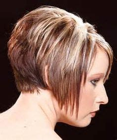 hairstyle wedge at back bangs at side very short asymmetrical brunette haircuts loading
