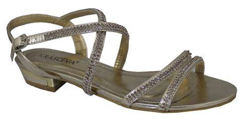 flat prom shoes uk flat gold low heel flat diamant 201 prom shoes