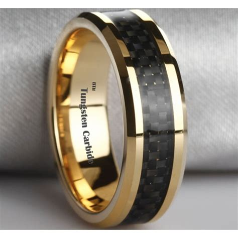 Wedding Rings Tungsten by Gold Plated Tungsten Wedding Bands Wedding Bands Design