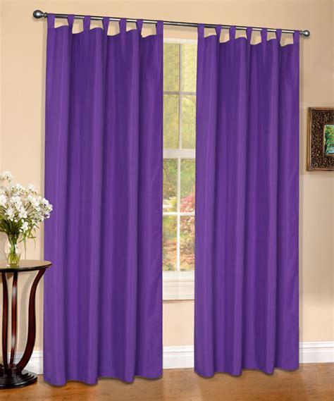 vorhang lila vorhang blickdicht matt schal lila schlaufen 175x140 aus