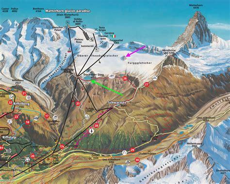theodulgletscher retreat zermatt ski area swizerland