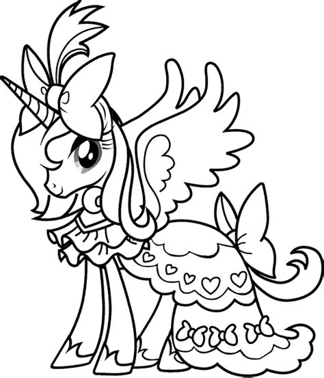 Gallery of my little pony friendship is magic printable coloring pages