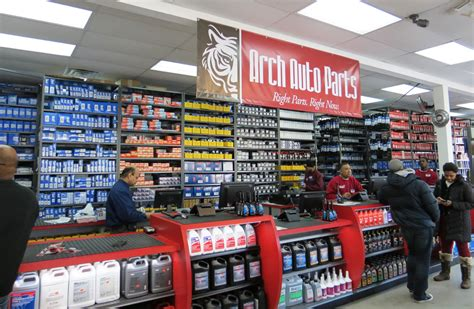 New Arch Auto Parts Store in Queens, NY, Provides Exact