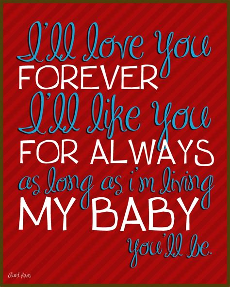 images of love u forever love you forever children s book quotes pinterest i