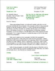 Business Letter Layout Example business letter format