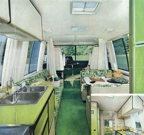 Motor Home Interior Cers Of Shag A Look Inside Groovy Recreational Vehicles Of The 1970s