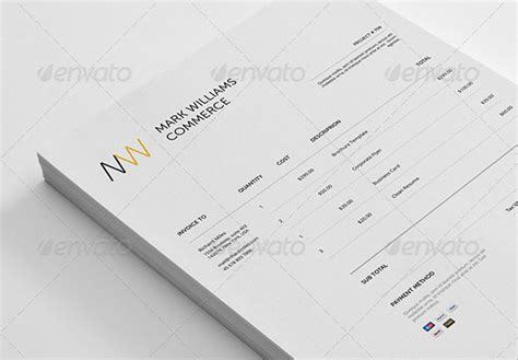 photoshop invoice template 37 best psd invoice templates for freelancer web