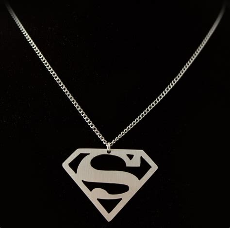 superman pendant by obsidiandevil on deviantart