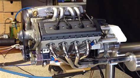 Handmade Engine - makes 48cc v8 engine autoblog