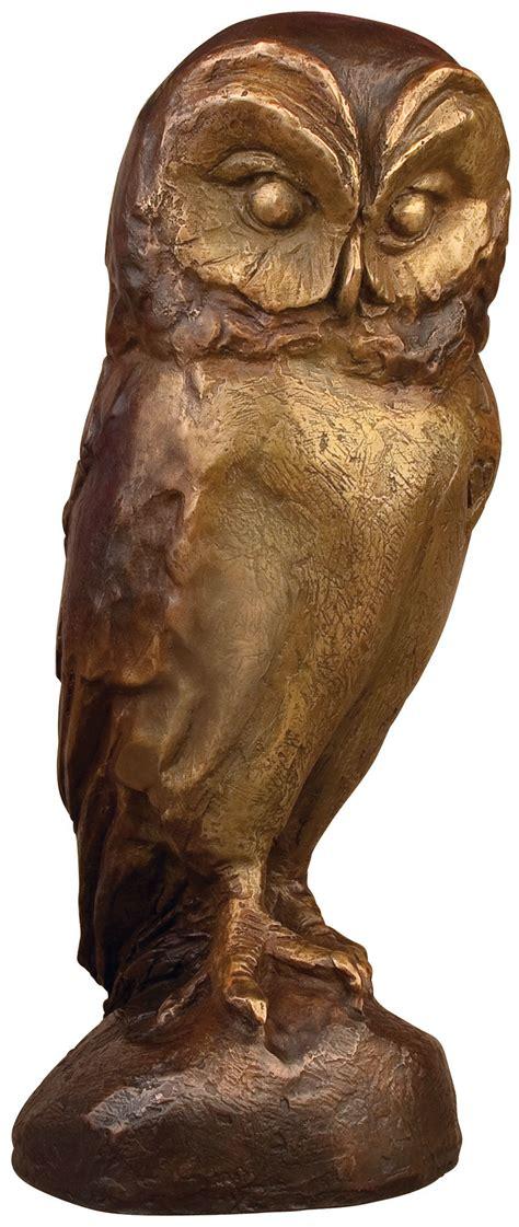 Aus Bronze by Bruno Bruni Skulptur Quot Eule Quot Bronze Ars Mundi