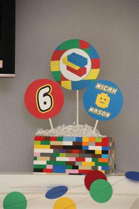 lego centerpieces legos birthday ideas lego birthday and lego