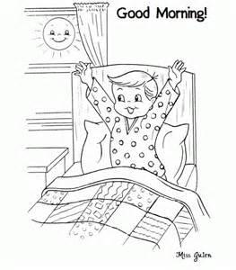 Dibujos De Good Morning Buen D&237a En Ingl&233s Para Pintar  Colorear sketch template