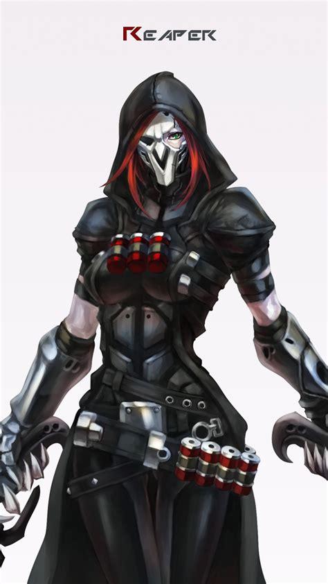 reaper overwatch wallpaper   amazing full