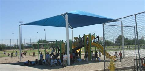 Playground Awnings by Sun Shade Structures For Day Care Scottsdale