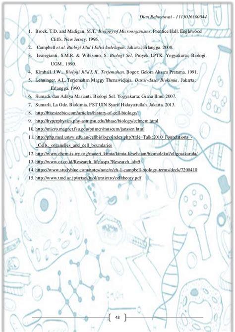 Biologi Edisi Kedelapan Jld 2 buku tentang sel dian rahmawati 1113016100044