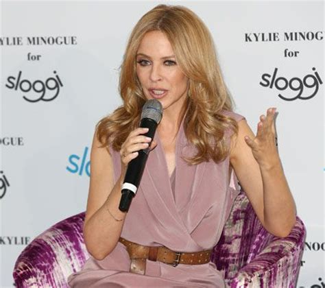 Minogues New Hm Line by Minogue Promotes New Line While