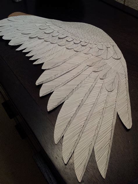 How To Make A Paper With Wings - paper wing by renoshaw on deviantart