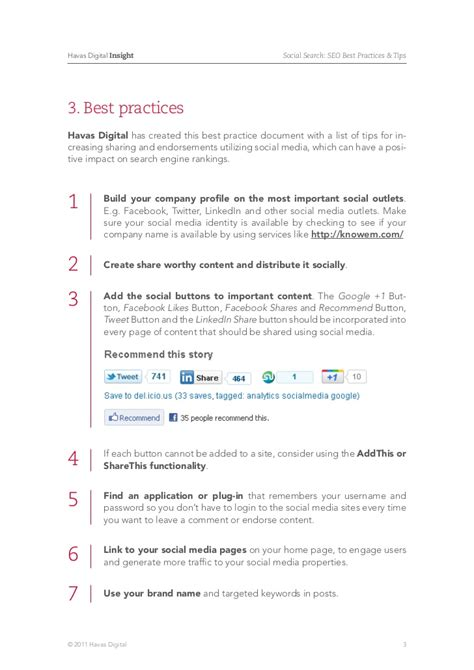 Best Social Search Social Search Seo Best Practices Tips Havas Digital Insights