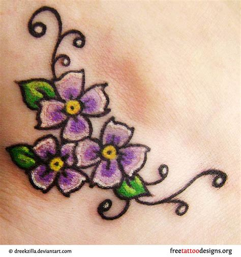 cute flower tattoo designs tattoos and ideas 100 designs