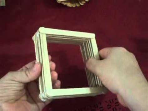 cofre con palitos de paleta paso a paso paso a paso de como hacer joyeritos con palitos de paleta