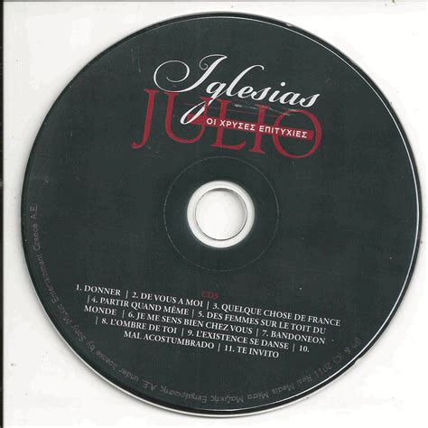 3 Cd Goldenik golden collection cd3 julio iglesias mp3 buy tracklist