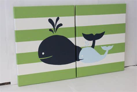 Whale Nursery Decor Whale Nursery Wall Baby Boy Whale Decor Baby Boy