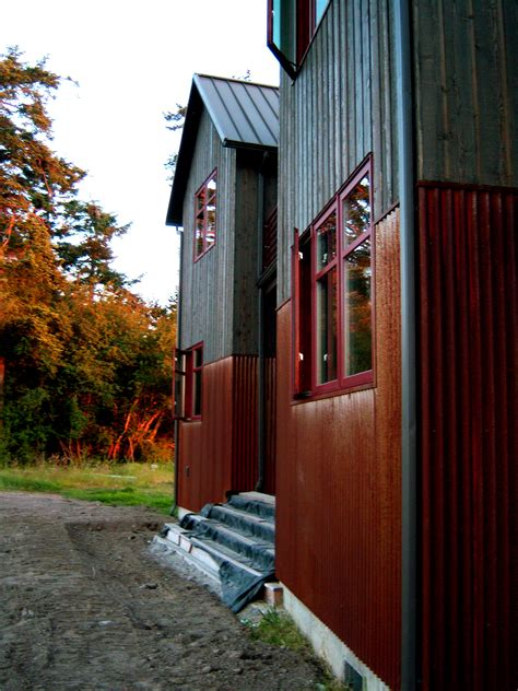 tin sided houses good metal exles on pinterest metal siding corrugated metal and modern exterior