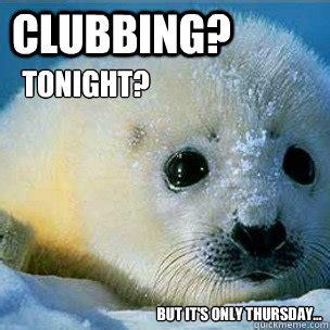 Harp Meme - clubbing harp seals memes quickmeme