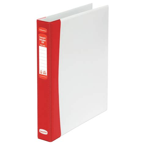 Insert Ring Binder 2 D A4 25 Mm 8522 07 Bantex colourhide soft grip insert binder a4 2 d ring 25mm officeworks