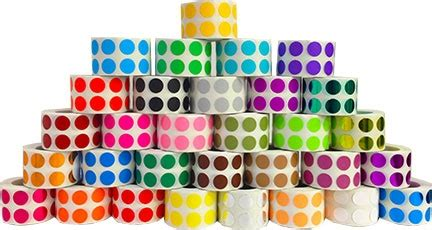 Sticker Dot A Dot colored dot stickers