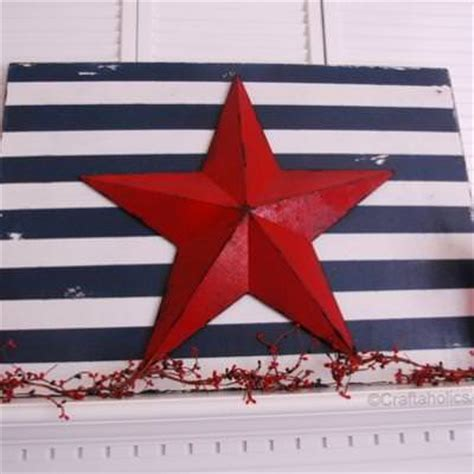 stars and stripes home decor patriotic star and stripes holiday decor crafts tip junkie