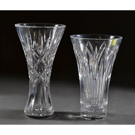 waterford vase 2 waterford vases