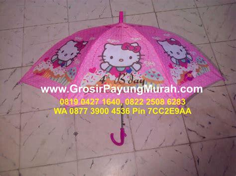Jual Teflon Karakter Murah jual payung anak karakter murah di kota dumai 087839212989