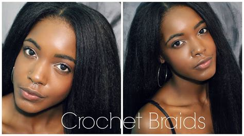 how to easy natural looking vixen crochet braids how to