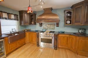 Paint Bathroom Sink Countertop - copper kitchen sink copper kitchen accessories and their beauty decorbathroomideas com