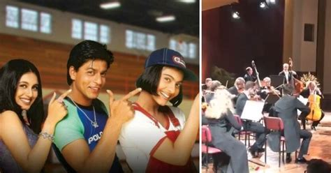 kuch kuch hota hai film of india german orchestra plays the iconic tune of kuch kuch hota