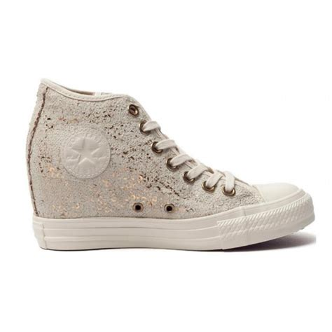 converse all zeppa interna converse all 551556c sneaker mid con zeppa interna