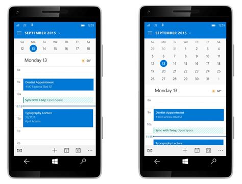 apps for windows mobile outlook mail for windows 10 mobile delivers improved one