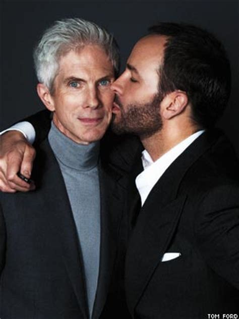 who is tom ford tom ford and richard buckley forever out magazine