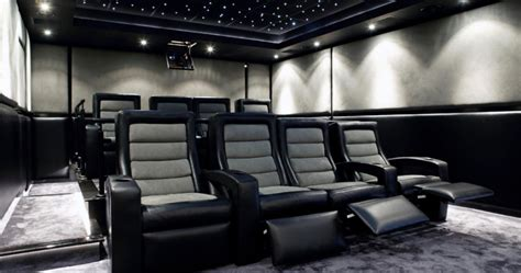 futuristic home cinema cedia home theater photos