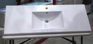 Polymarble Vanity Tops by Estilo 1200mm Polymarble Vanity Top Bunnings Warehouse