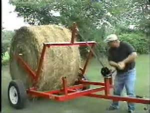 quikroll the bale unroller dolly youtube