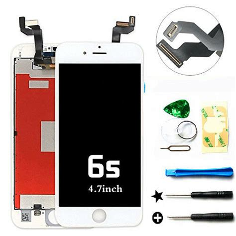 white lcd display touch screen digitizer assembly replacement for iphone 6s oem ebay