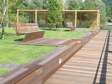 arredo urbano in legno arredo urbano legnotech in legno strutture in