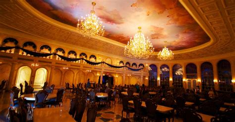 Be Our Guest Dining Rooms by Inside Be Our Guest Restaurant Dining Rooms Photo 16 Of 19