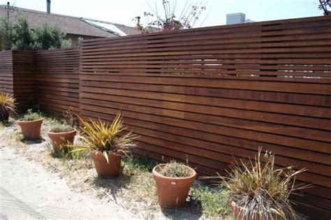 outdoor modern fence ideas my home style