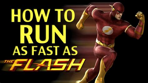 how fast is a how to run as fast as the flash